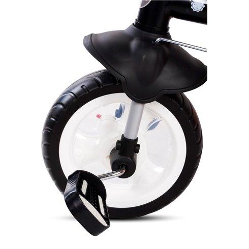 Triratukas su pasukama sėdyne Saulės Vaikas Fresh 360 Bordo