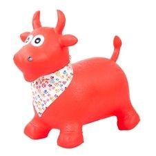 Saulės Vaikas Skoczek byczek gumowy - czerwony z chustą