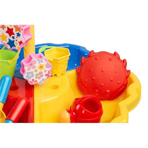 Vandens ir smėlio staliukas Toyz Atostogos