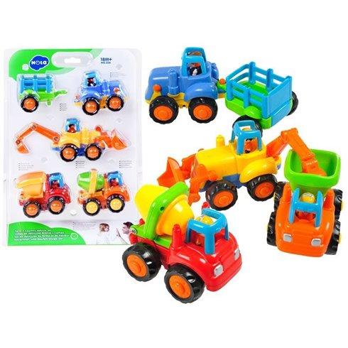 Statybinių automobilių rinkinys JK PTP00020