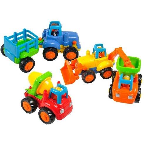Statybinių automobilių rinkinys ZESTAW PTP00020