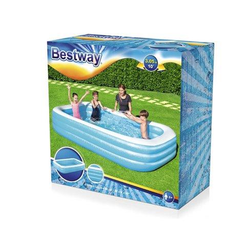 Bestway Family  pripučiamas baseinas 305x183x56cm 54009