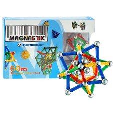 Klocki Magnetyczne 60 elementów MAGNASTIX PTP00655