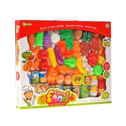 Maisto produktai JOK vaisiai-daržovės 52dalys