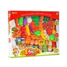 Artykuły spożywcze 52elementy owoce warzywa PTP01147