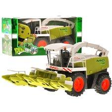 Duży zielony Kombajn dla rolnika zabawka PTP01342