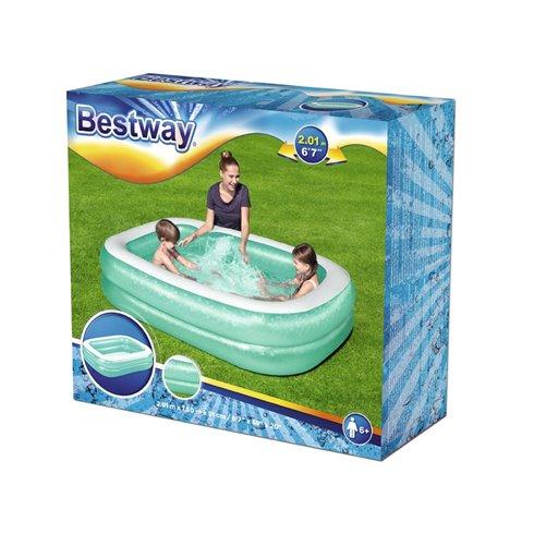 Baseinas Bestway  201x150x51cm 54005