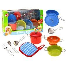 Malowane GARNKI  Małego kucharza Naczynia PTP01608