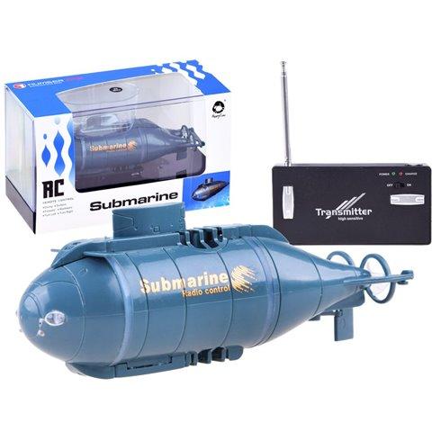 Nuotoliniu būdu valdomas povandeninis laivas PTP00357 mėlynas