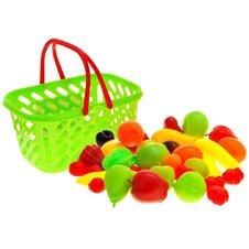 Kolorowy koszyk na zakupy OWOCE zestaw PTP01851