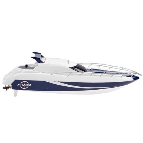 Motorinė valtis su pultu PTP00380 mėlyna