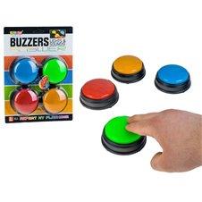BUZZERS Kolorowe dźwiękowe przyciski PTP02320