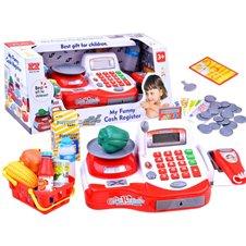 Žaislinis kasos aparatas su priedais JOK PTP02380
