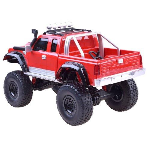 Automobilis Pickup 4 ratai PTP00427 raudonas
