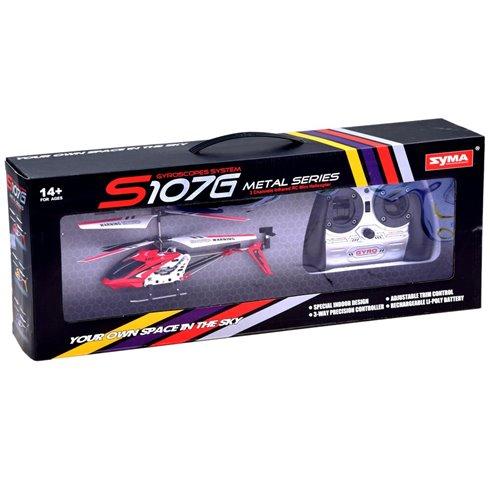 Nuotoliniu būdu valdomas sraigtasparnis SYMA S107G PTP00431 raudonas