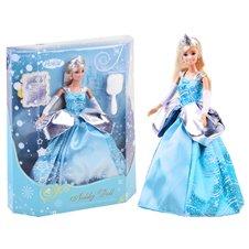 Anlily lalka księżniczka Elza w sukni  PTP02460