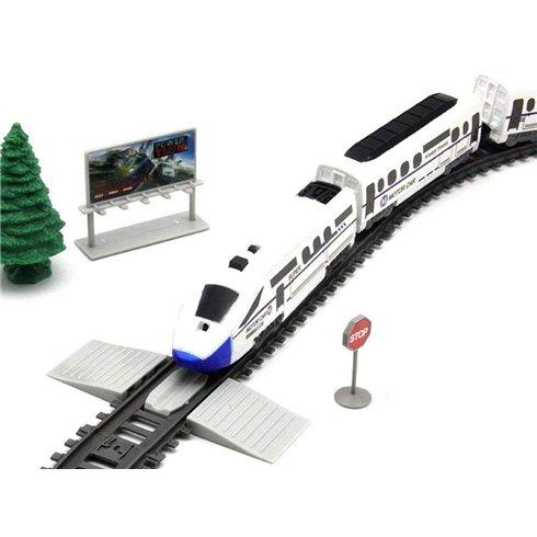 Ilgas, modernus elektrinis traukinys 914cm PTP00464