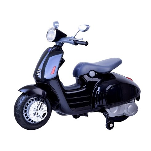 Elektromobilis JK Vespa PTP00139 Juodas