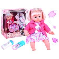 Graži kūdikio lėlė su aksesuarais JOK PTP02899