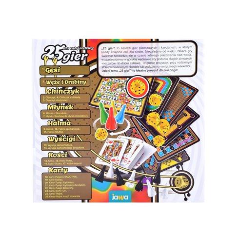 Žaidimas  JAWA 25 galvosūkių  PTP00380