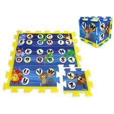 Puzzle piankowe mata Zwierzęta Alfabet PTP03148