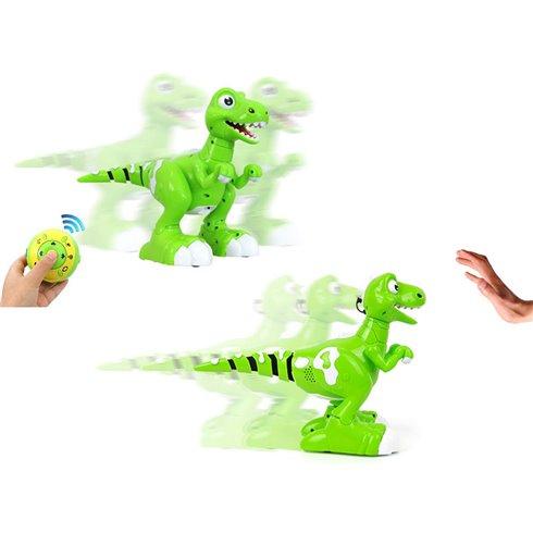 Nuotoliniu būdu valdomas šokantis dinozauras PTP00502