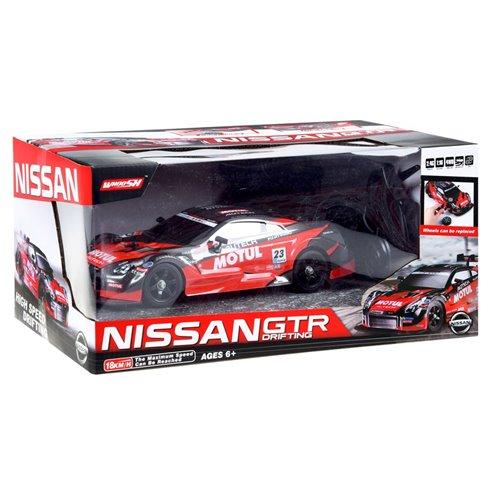 Automatiškai valdomas Nissan GTR  PTP00504 raudonas