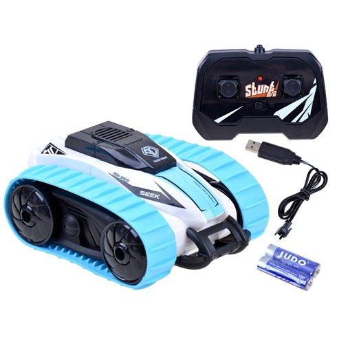 Automobilis Stunt vikšrinis,nuotolinis valdymas PTP00510 mėlynas