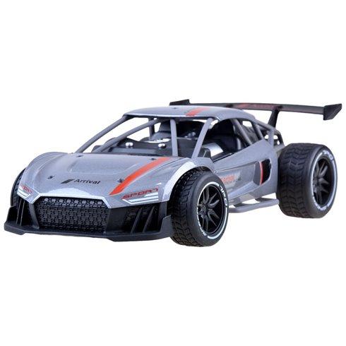 Greitas METALINIS nuotoliniu būdu valdomas automobilis PTP00519 sidabrinis