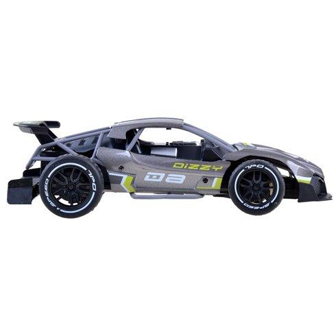 Greitas METALINIS nuotoliniu būdu valdomas automobilis PTP00521 sidabrinis