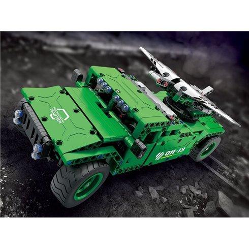 Valdoma konstruojama transporto priemonė blokai 506 elementų su pultu PTP00532