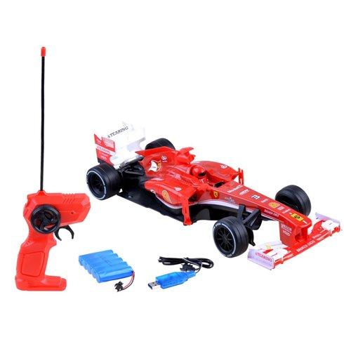 Lenktininis JOK automobilis su pultu PTP00533 raudonas