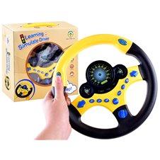 Kierownica Interaktywna zabawka z dźwiękiem PTP03347