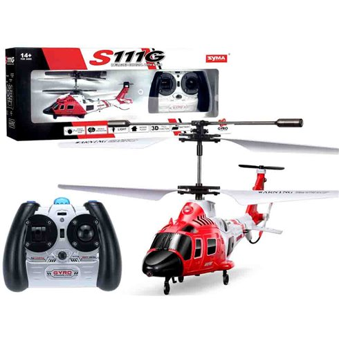 Sraigtasparnis Syma S111G  valdomas piloto PTP00541