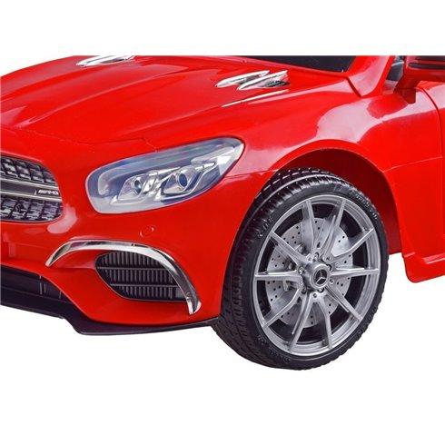 Elektromobilis Mercedes S63 AMG PTP00231 baltas