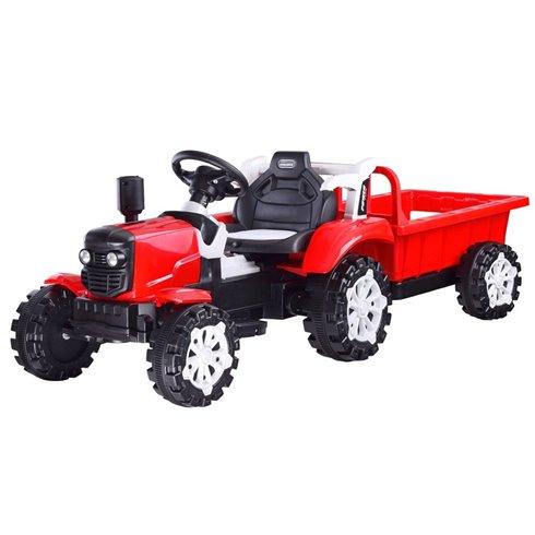 Traktorius su priekaba PTP00234 žalia