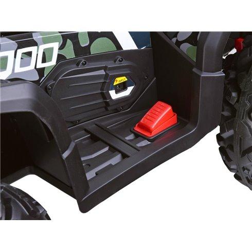 Keturatis QUAD 4x4 su  led žibintais ir EVA ratais PTP00230