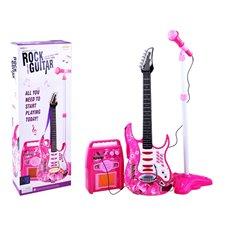 Elektrinė gitara. Mikrofonas. Stiprintuvas PTP00018 RO