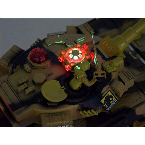 Lakūnų valdomas mūšio tankas 2,4 GHz PTP00036ZI