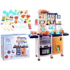 Duża Kuchnia dla dzieci lodówka piekarnik PTP03547 Blue