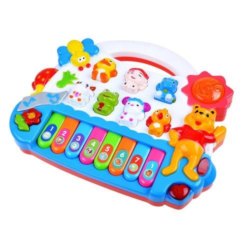 Pianinas su gyvūnų garsais JOK PTP00802