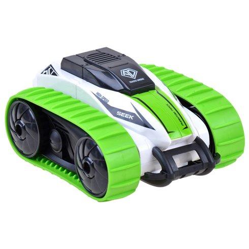 Automobilis Stunt vikšrinis,nuotolinis valdymas PTP00510 žalias
