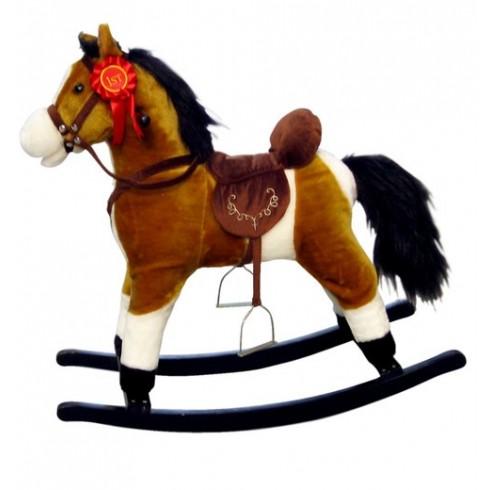 Muzikinis arkliukas MILLY MALLY Mustang šviesiai rudas