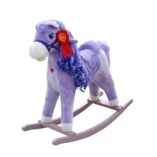 Muzikinis arkliukas MILLY MALLY Princess violetinis