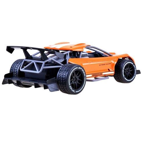 Greitas METALINIS nuotoliniu būdu valdomas automobilis PTP00518 oranžinis
