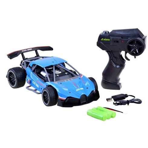 Greitas METALINIS nuotoliniu būdu valdomas automobilis PTP00521 mėlynas