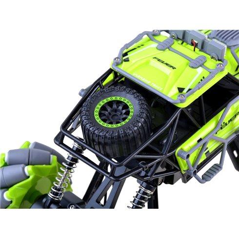 Nuotoliniu būdu valdomas automobilis DRIFT  2,4GHz PTP00522 žalias
