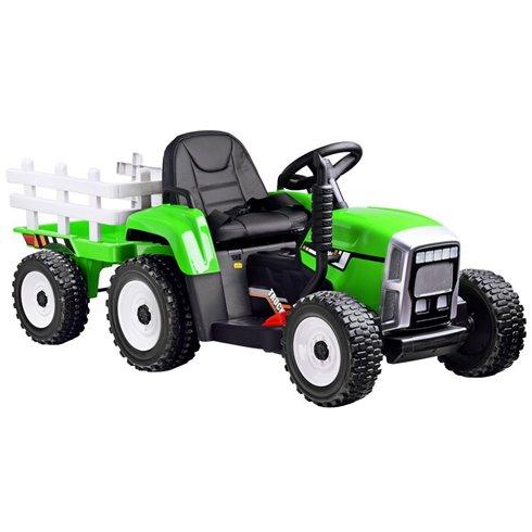 Traktorius su priekaba ir nuotoliniu pultu  PTP00242