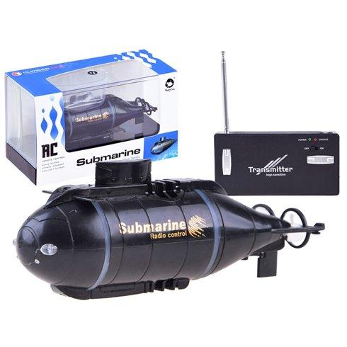 Nuotoliniu būdu valdomas povandeninis laivas PTP00357 juodas