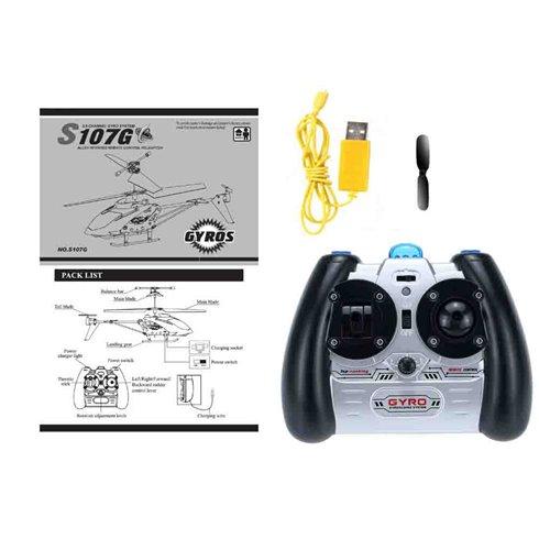 Sraigtasparnis  SYMA nuotoliniu būdu valdomas  S107G PTP00431 Blue